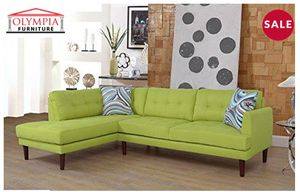 Sofa sectional green for Sale in West Valley City, UT
