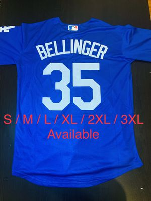 Cody Bellinger Los Angeles Dodgers Baseball Stitched Jersey 35 for Sale in Bloomington, CA