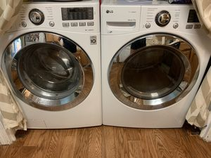 LG direct drive washer and electric dryer high efficiency for Sale in Scarborough, ME