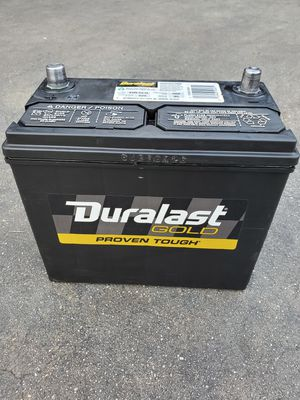 Honda Car Battery Group Size 51R Duralast Gold 2018 for Sale in South Gate, CA