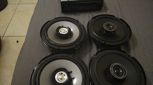 4 speakers and audio Sony for Sale in Fontana, CA