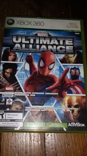 Xbox 360 game (ULTIMATE ALLIANCE) for Sale in Bellevue, PA