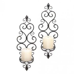 Candle Holder Duo Size:5.50 x 4.38 x 15.75 Inches for Sale in Irvine, CA