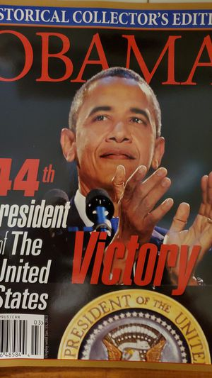 Historical Collector's edition Obama 44th president of the United States for Sale in Potter, KS