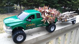 Cute truck planter with trailer. for Sale in Puyallup, WA