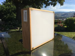 "Light Impressions Spectrum 5000 Professional Color-Corrected 5000K Oak Light Box, 10 x 12.5"" for Sale in East Wenatchee, WA"