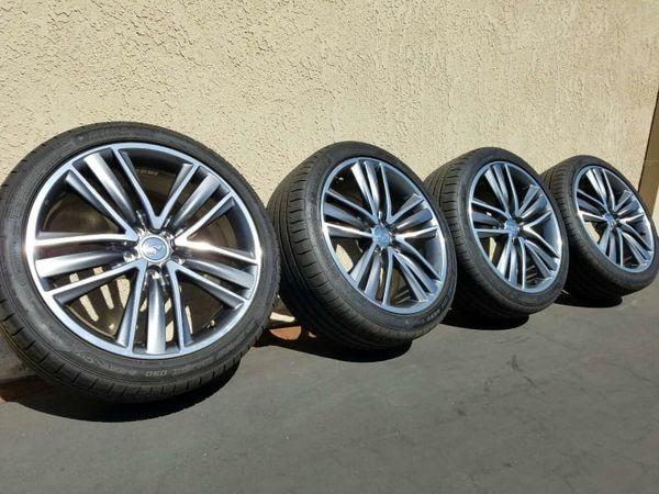 Infiniti Q50S wheels rims 19x8.5 245 40 19 5x114