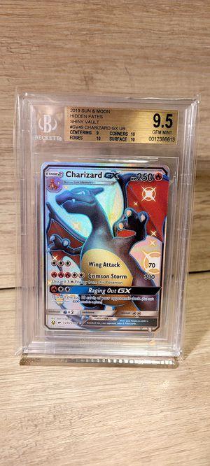 Shiny Charizard GX Pokémon Card for Sale in Claremont, CA