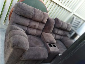 Reclining sofa for Sale in Galloway, OH