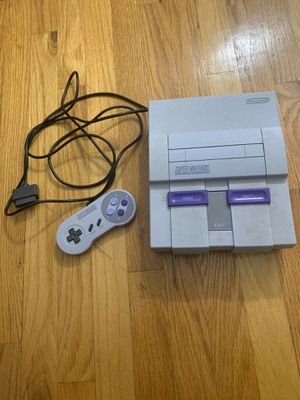 Original Super Nintendo for Sale in Glyndon, MD