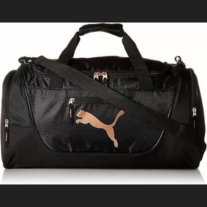 Puma Duffle Gym Black/Gold Bag for Sale in Burbank, CA