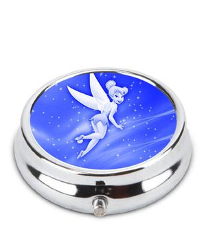 VINTAGE DISNEY TINKER BELL ALUMINUM.& GLASS PILL / TRINKET BOX! LIMITED EDITION! BRAND NEW for Sale in Las Vegas, NV