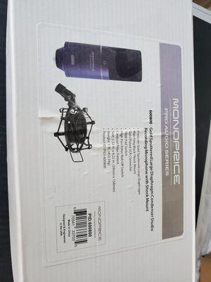Monoprice Pro Audio Series Condenser Mic NEW IN BOX for Sale in Chicago, IL