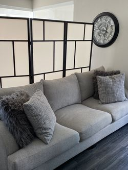 Big Comfy Grey Couch for Sale in Los Angeles,  CA