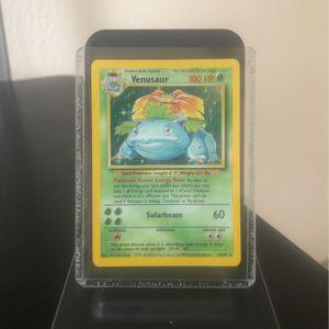 Holo Venasaur (1999) Base Set Pokemon Cards for Sale in Tampa, FL