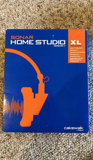 Sonar Home Studio XL (Version 7) for Sale in Seattle, WA