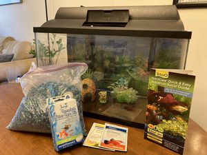 Aquarium, pump/filter, heater, and more! for Sale in Baltimore, MD