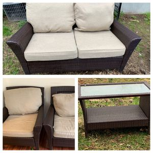 Patio furniture cushions! Used! Good conditions for Sale in White Plains, NY