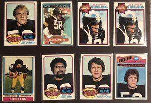 HOF-ALL PRO Franco Harris, Jack Lambert & Jack Ham Pittsburgh Steelers 1970s Lot! for Sale in Harmony, PA