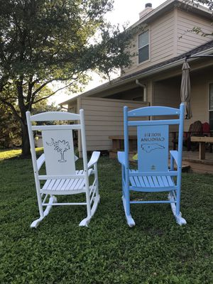 Wooden Rocking Chair Porch Rocker Classic Outdoor/Indoor for Sale in Austin, TX