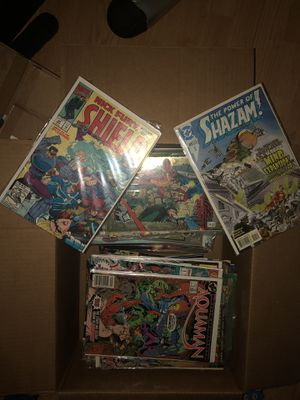 Box of old comic books for Sale in Dunedin, FL