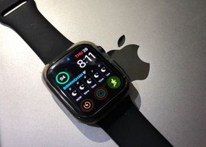 Apple Watch Series 4 Cellular 44mm Black - Only $25 down today! for Sale in Providence, RI