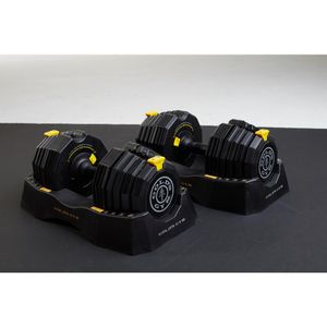 Title:110 lbs. Adjustable Dumbbell Set for Sale in Houston, TX