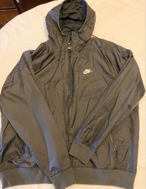 Nike Windbreaker Hoody Jacket Sz XL Black for Sale in Brooklyn, NY