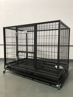 """NEW! 43"""" Heavy-Duty Dog Cage (Kennel) (Crate) house🇺🇸 brand new in factory sealed box.🐕 see second picture for dimensions😊 for Sale in Las Vegas, NV"""