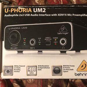 Behringer Studio Audio Interface for Sale in Hawthorne, CA