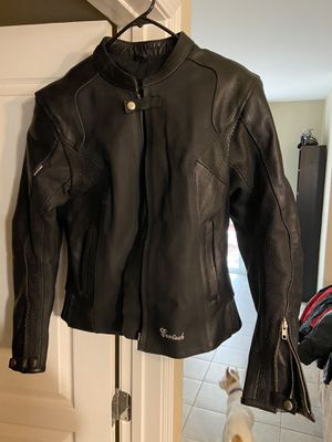 Leather Jacket women's medium for Sale in Mountain House, CA