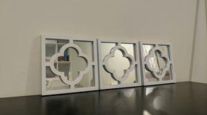 Wall Decor- hanging mirror trio for Sale in Lenexa, KS