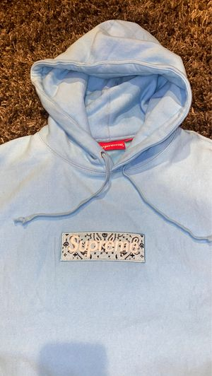 Supreme Baby Blue Hoodie for Sale in Buena Park, CA