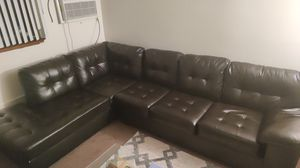 Black sectional couch for Sale in Saint Paul, MN