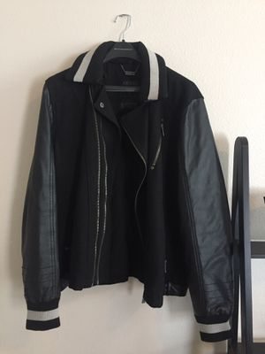 Guess leather Jacket L for Sale in Bend, OR