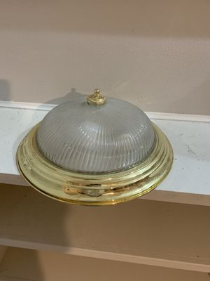 Used gold light fixture for Sale in Milwaukee, WI