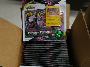 Pokemon TCG: A Box of 24 Unified Blisters Packs for Sale in Tampa, FL