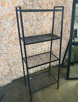 4-Shelf Metal Ladder Book Shelf Open Bookcase Black & White Available for Sale in Pomona, CA