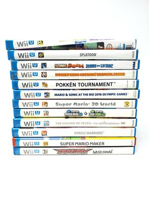 Nintendo Wii U Games (Different Prices) for Sale in North Las Vegas, NV