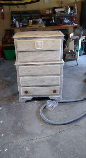 Refinished 5 drawer dresser for Sale in North East, PA