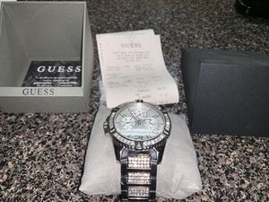 Guess silver watch for Sale in Oxon Hill, MD