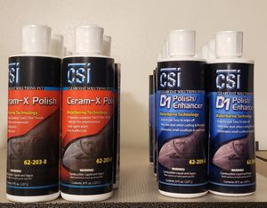 CSI Ceram-X Polish (Say Goodbye To Compounds) for Sale in El Monte, CA