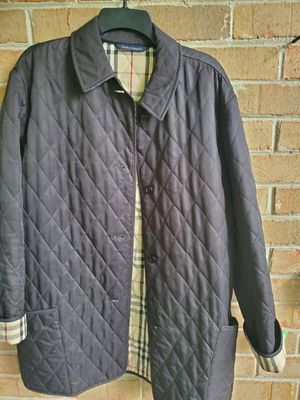 WOMENS Quilted Black Burberry Jacket for Sale in Peachtree Corners, GA