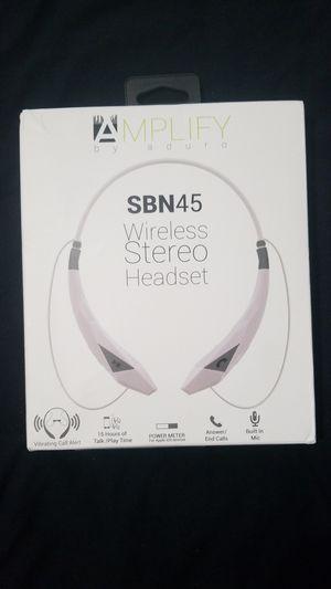 Amplify bluetooth headset for Sale in Philadelphia, PA