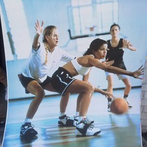 Womens Basketball Aluminum Poster for Sale in St. Louis, MO