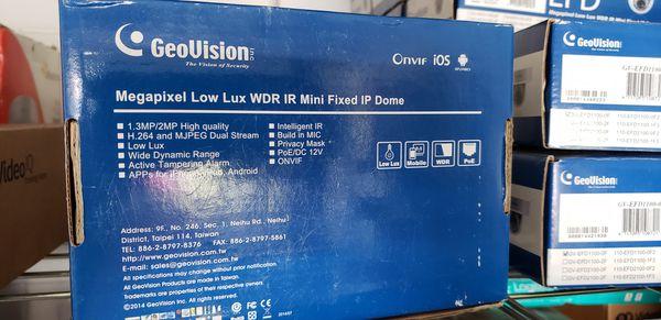 GeoVision EFD1100 IP Camaras