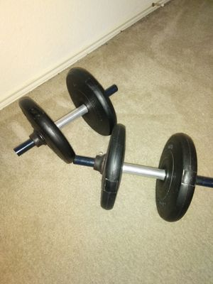 Barbells. Four 10 lb. Weights. $15 for Sale in Lancaster, TX