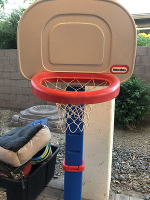 Little Tikes basketball hoop (balls not included) for Sale in Phoenix, AZ