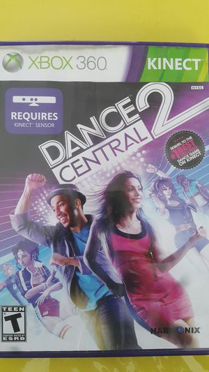 DANCE CENTRAL 2 FOR XBOX 360 KINECT for Sale in Miami Gardens, FL