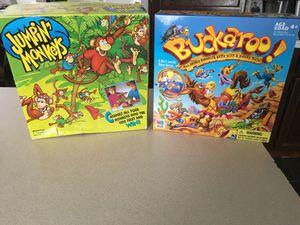 "2-Kids Games ""Buckaroo & Jumpin Monkeys"" Games for Sale in Dearborn Heights, MI"